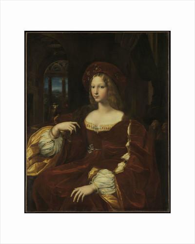 Portrait of Doña Isabel de Requesens y Enríquez de Cardona-Anglesola by Giulio Romano