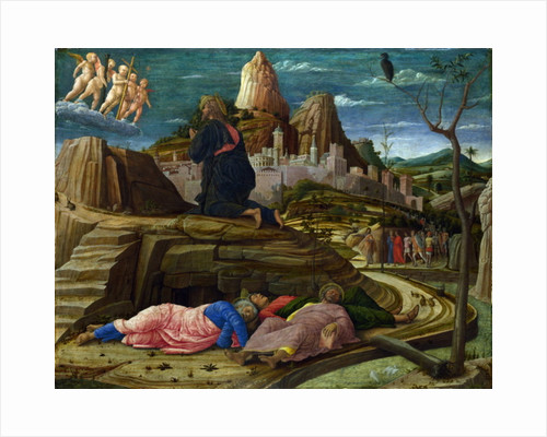 Agony in the Garden, c.1460 by Andrea Mantegna