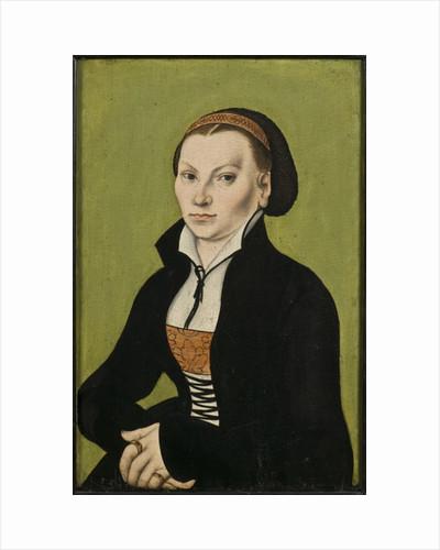 Catharina von Bora, 1527 by Lucas