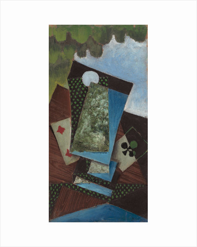 Ace of Clubs and Four of Diamonds, 1912 by Juan Gris