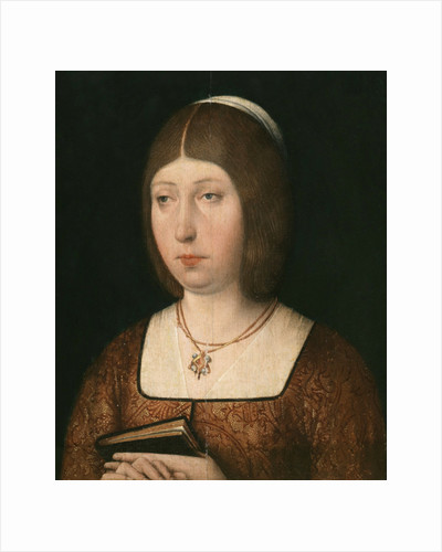 Portrait of Isabella 'The Catholic', Queen of Castile, c.1490 by Flemish School