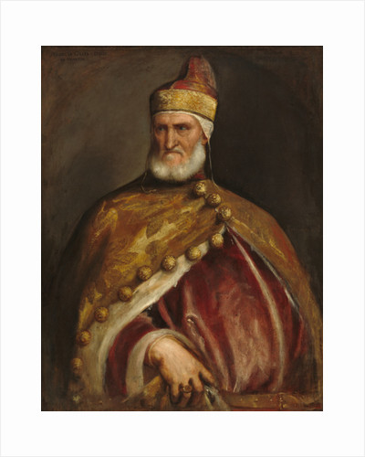 Doge Andrea Gritti, 1546-8 by Titian