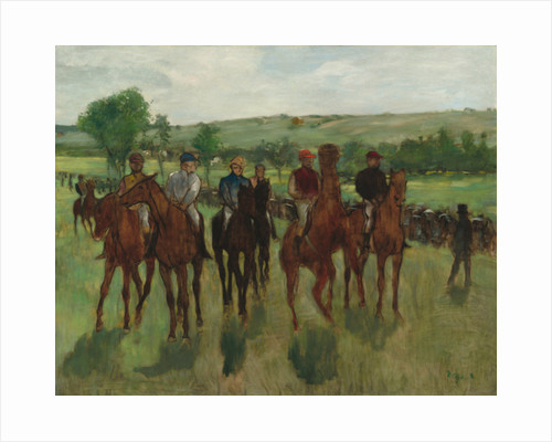 The Riders, c.1885 by Edgar Degas