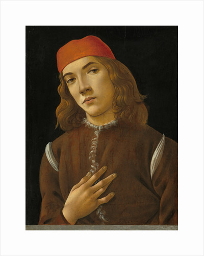 Portrait of a Youth, c.1482-85 by Sandro Botticelli