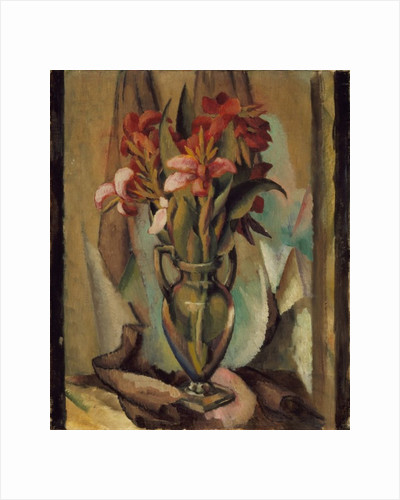 Flowers in a Handled Vase, 1919-22 by Edward Middleton Manigault