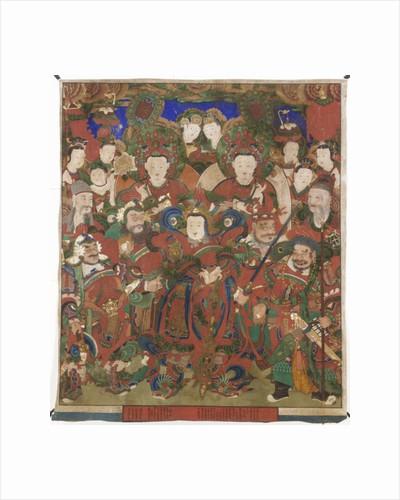 Bodhisattvas of the Protection of Buddhist Doctrine, 1891 by Korean School