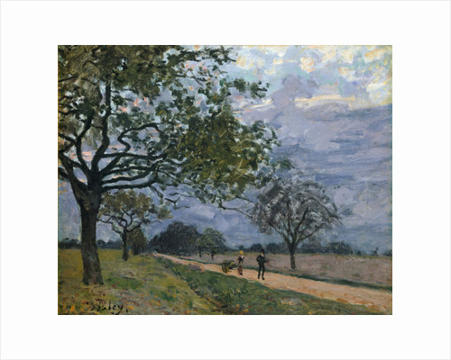 The Road from Versailles to Louveciennes, 1879 by Alfred Sisley