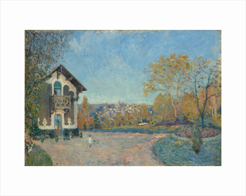 View of Marly-le-Roi from Coeur-Volant, 1876 by Alfred Sisley