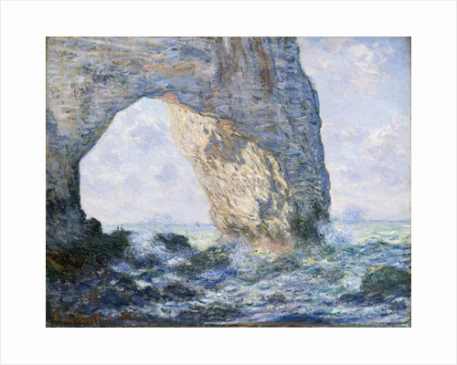 The Manneporte, 1883 by Claude Monet