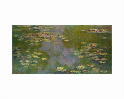 Water Lilies, 1919 by Claude Monet