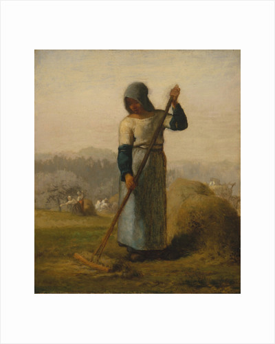 Woman with a Rake, probably 1856–57 by Jean-Francois Millet