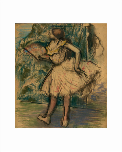 Dancer with a Fan, c.1890-95 by Edgar Degas