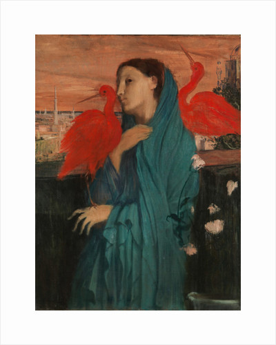 Young Woman with Ibis, 1860-62 by Edgar Degas