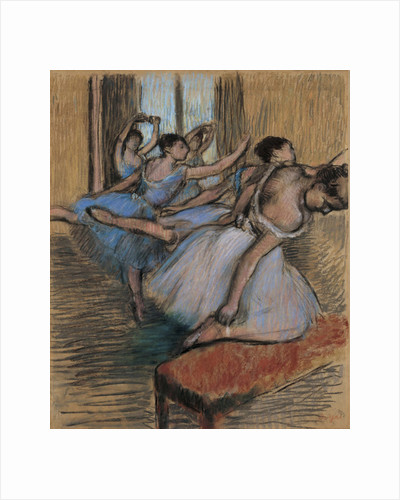 The Dancers, c.1900 by Edgar Degas