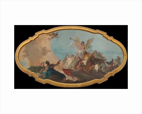 The Glorification of the Barbaro Family, c.1750 by Giovanni Battista Tiepolo