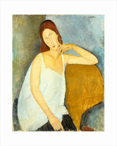 Jeanne Hébuterne, 1919 by Amedeo Modigliani