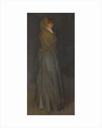 'Arrangement in Yellow and Gray': Effie Deans, c.1876-78 by James Abbott McNeill Whistler