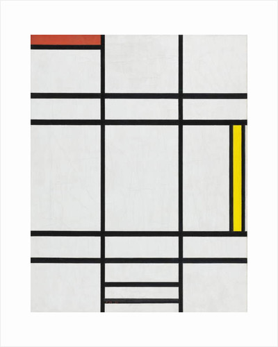 Composition in White, Red, and Yellow, 1936 by Piet Mondrian