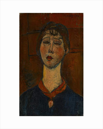 Portrait of Madame Dorival, c.1916 by Amedeo Modigliani