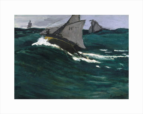 The Green Wave, c.1866-67 by Claude Monet