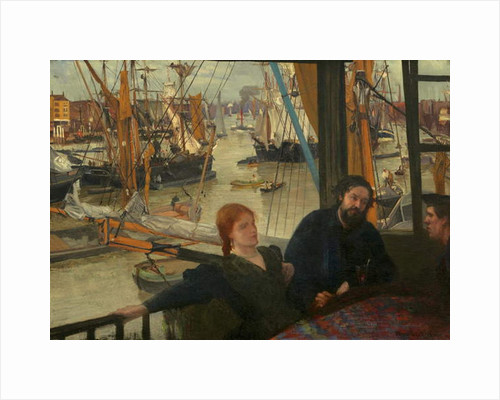 Wapping, 1860-64 by James Abbott McNeill Whistler