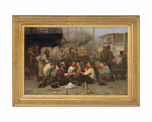 The Longshoremen's Noon by John George Brown