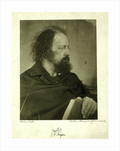 Alfred Tennyson, the Dirty Monk by Julia Margaret Cameron