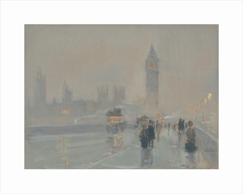 Big Ben, 1897 or 1907 by Childe Hassam