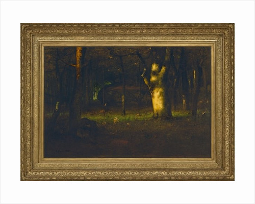 Sunset in the Woods by George Snr. Inness