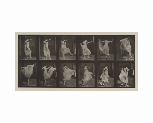 Plate Number 188. Dancing (fancy), 1887 by Eadweard Muybridge