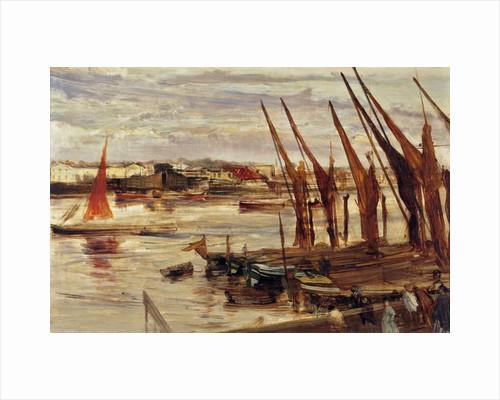 Battersea Reach, c.1863 by James Abbott McNeill Whistler