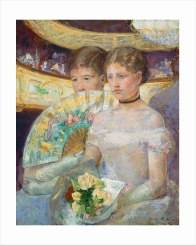 The Loge by Mary Stevenson Cassatt