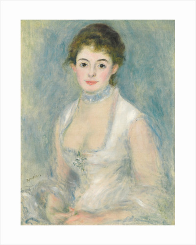 Madame Henriot by Pierre Auguste Renoir