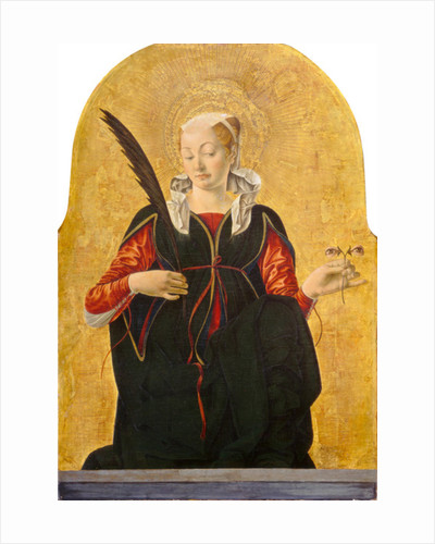 St Lucy by Francesco del Cossa