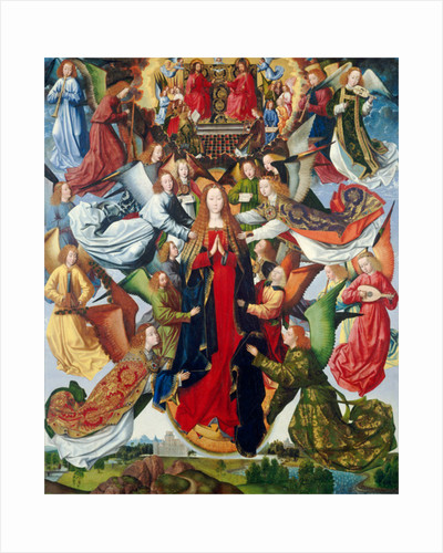 Mary, Queen of Heaven by Master of the Legend of St. Lucy