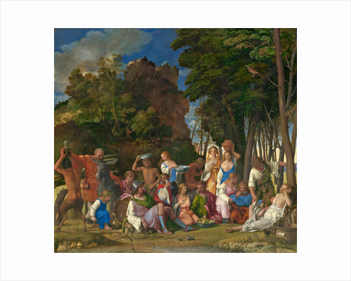 The Feast of the Gods by Giov. /Titian Bellini