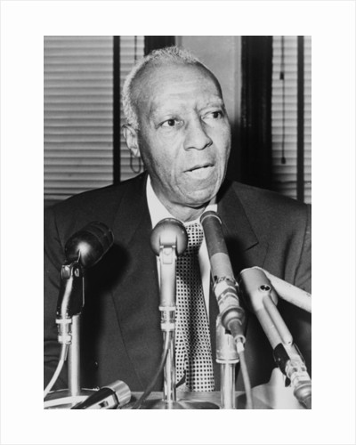 Asa Philip Randolph by American Photographer