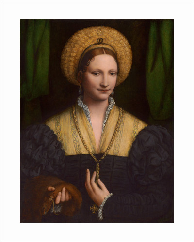 Portrait of a lady by Bernardino Luini