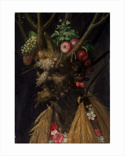 Four Seasons in the One Head by Giuseppe Arcimboldo
