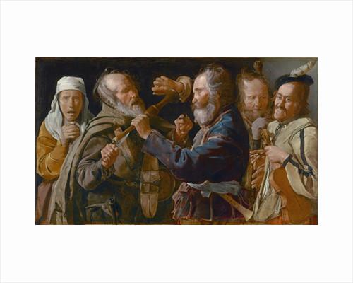 The Beggars' Brawl by Georges de la Tour