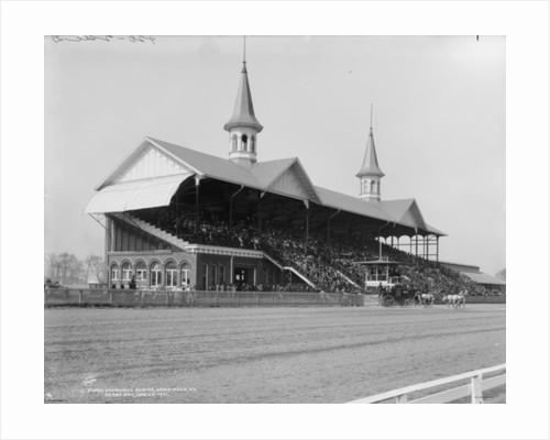 Churchill Downs, Louisville, Kentucky, Derby day by Detroit Publishing Co.