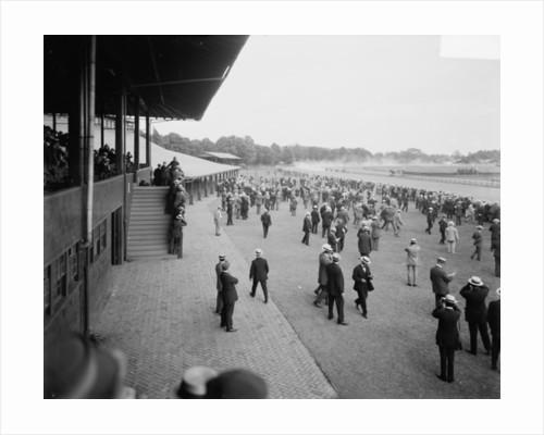 Saratoga race track, Saratoga Springs, N.Y. by Detroit Publishing Co.