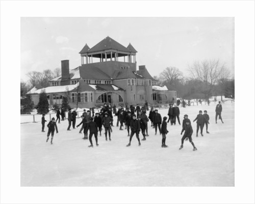 Detroit, Michigan, skating at Belle Isle by Detroit Publishing Co.