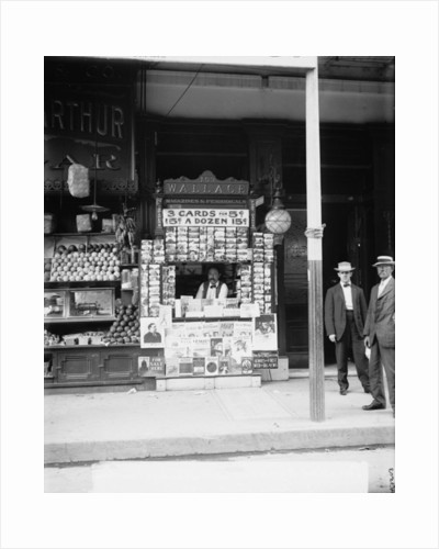 Smallest news & post card stand in New Orleans by Detroit Publishing Co.