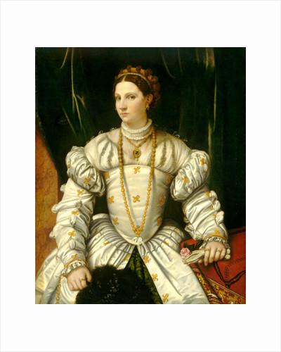 Portrait of a Lady in White by Moretto da Brescia