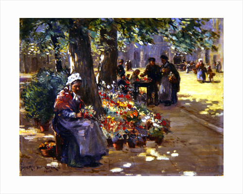 The Flower Seller by William Kay Blacklock