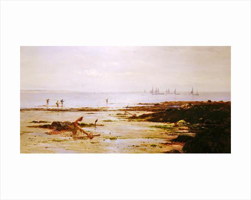 Cornish Shrimpers by Gustave de Breanski