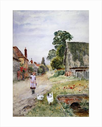 The Goose Girl by Henry John Yeend King