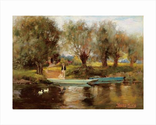 Ferry at Clifton by Henry John Yeend King