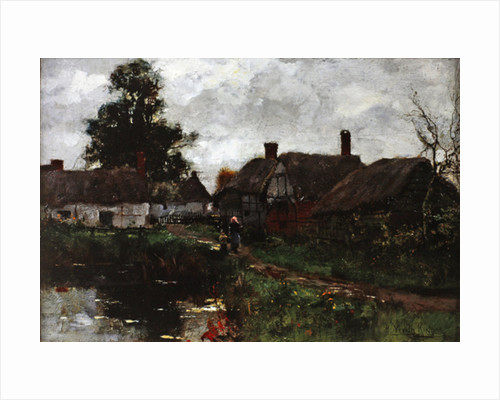 By the Pond by Henry John Yeend King